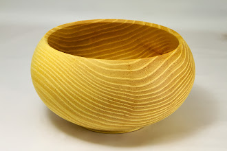"Photo: Tim Aley 7"" x 4"" bowl [osage orange]"