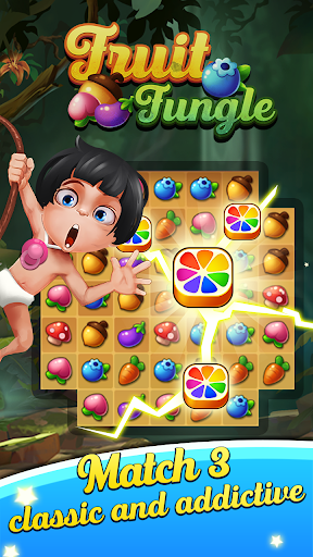 Fruit Jungle - Puzzle Match 3 Legend - screenshot