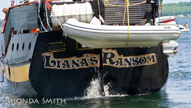 Photo: The back of Liana's Ransom.