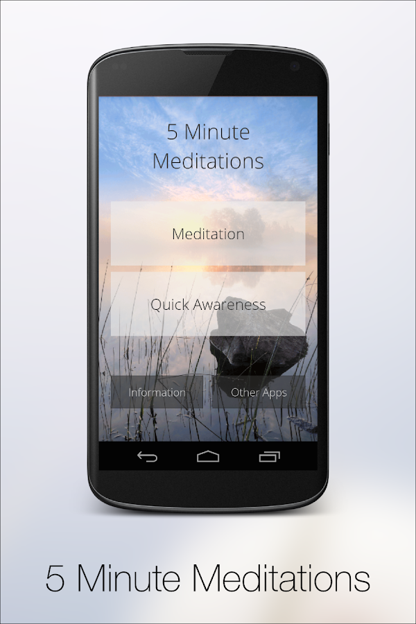 5 Minute Meditation- screenshot