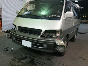 ハイエースワゴン 平成9年車のカスタム事例画像 みーたんさんの2019年01月15日07:14の投稿