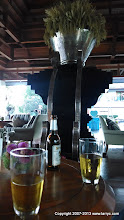 Photo: The bar at our hotel in Chiang Mai