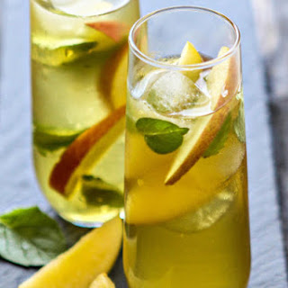 Green Tea Cocktail.