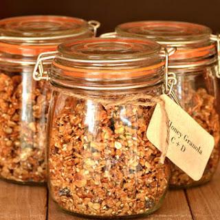 Homemade Granola Favors