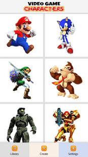 Video Game Characters Color by Number - Pixel Art