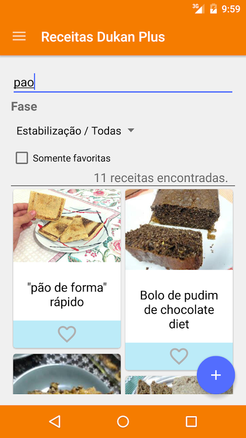 Receitas para emagrecer - PLUS- screenshot