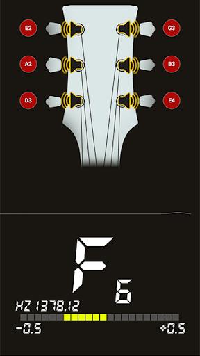 Guitar Tuner Free - In Tune 0.1.6 screenshots 1