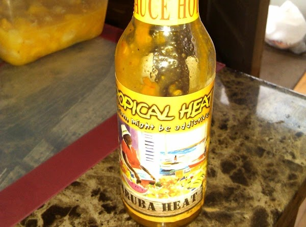 """I used this """"Tropical Heat"""" hotsauce and it was very good!"""
