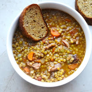 Lentil Soup With Meat Recipes.