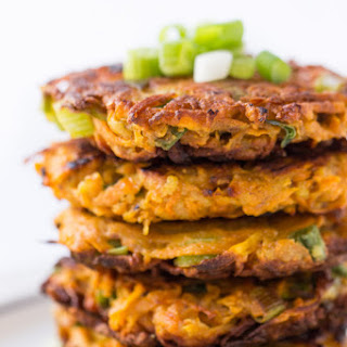 5-Ingredient Sweet Potato Quinoa Fritters Recipe