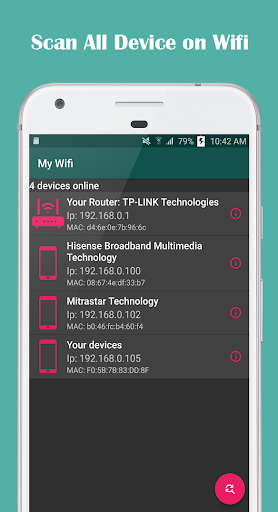 Show Wifi Password - Network Scanner 1.12 screenshots 2