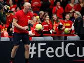 Fed Cup en Davis Cup-kapitein Johan Van Herck hoopt snel opnieuw wedstrijden te kunnen spelen