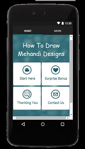How To Draw Mehndi Design