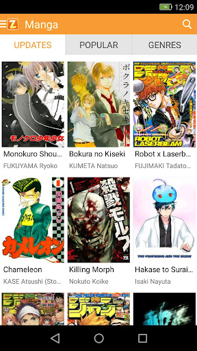 ZingBox Manga - Reader for manga lovers 9.0.9.1 screenshots 1
