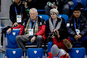 IOC member Dick Pound of Canada attends the Figure Skating Pair Skating Free Program on day six of the PyeongChang 2018 Winter Olympic Games at Gangneung Ice Arena on February 15, 2018 in Gangneung, Pyeongchang, South Korea.