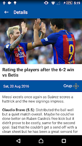 News, Photos & Stats for Messi screenshot 2