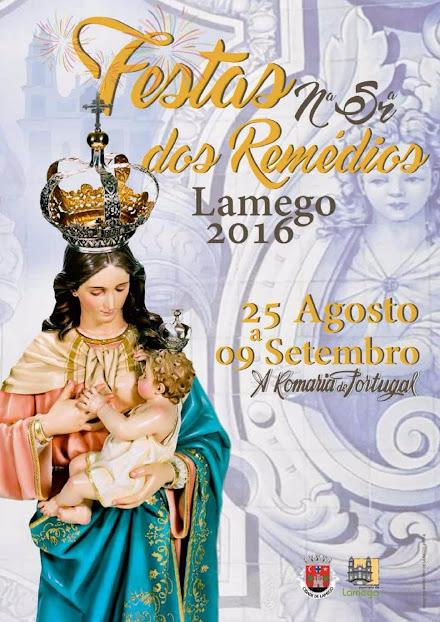 Publicação sobre as Festas em Honra de Nossa Senhora dos Remédios - 2016