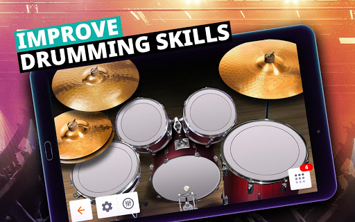 Drum Set Music Games & Drums Kit Simulator screenshot 11