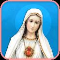 Saint Rosaire catholique icon