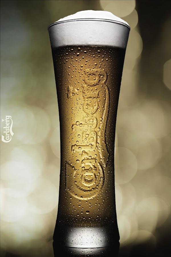Beer by Francisco Arroyo Valls - Food & Drink Alcohol & Drinks ( beer, yelow, background, bokeh )