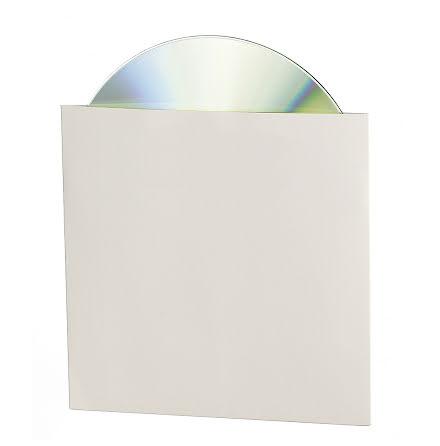 CD-konvolut vit kartong  25/fp