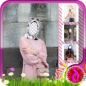 Hijab Fashion Photo Frames