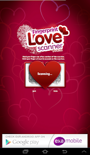 Fingerprint Love Scanner Prank- screenshot thumbnail