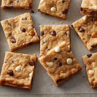 Triple Chip Cookie Bars Recipe