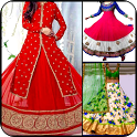 Fancy Anarkali Kurti Dresses Salwar neck Designs icon