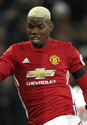 Paul Pogba of Manchester United in aciton during the Premier League match. Picture: GETTY IMAGES/MARK THOMPSON