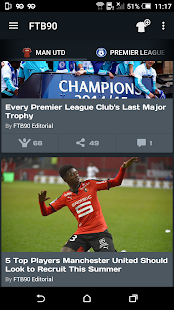 FTB90 - Live Soccer News App- screenshot thumbnail