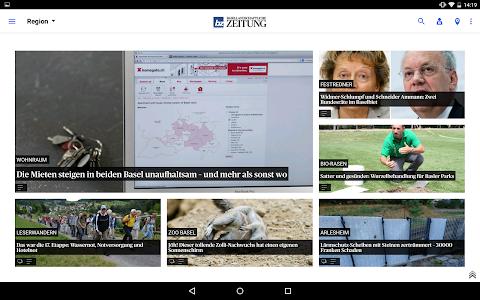 bz Basellandschaftliche News screenshot 6