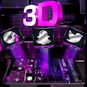 Cool Purple Light Gravity Theme icon