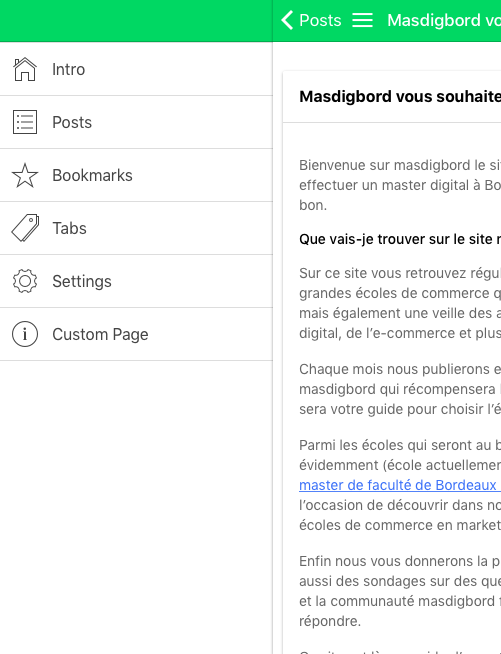 masdigbord- screenshot