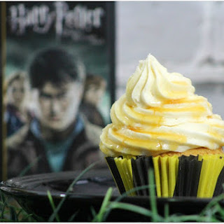 Harry Potter Butterbeer Cupcakes.