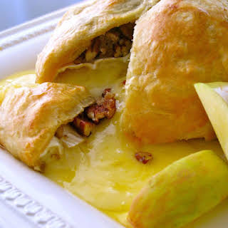 Baked Brie in Puff Pastry.