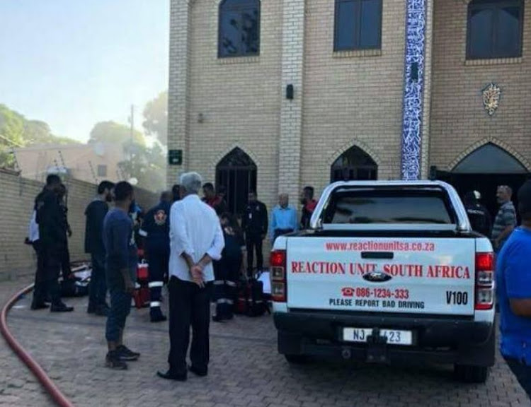 Three men were brutally attacked at a Verulam mosque on Thursday