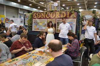 Photo: Concordia je nová hra PD-Verlag. Mac Gerdts využívá rondel zas trochu jinak. Hodnocení je zatím velmi dobré.