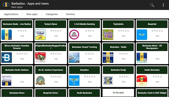 Barbadian apps and tech news- screenshot thumbnail