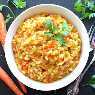Caramelized Carrot Risotto.