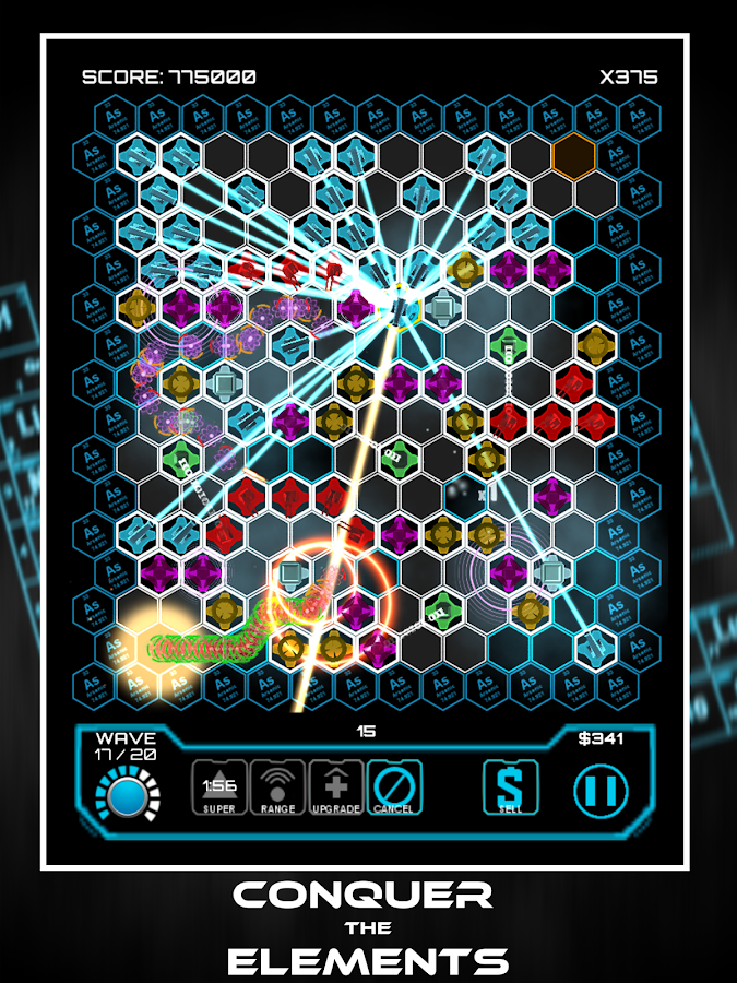 Particle Shield- screenshot