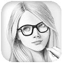 Sketch Photo : Pencil Sketch icon
