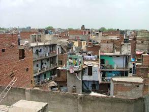 Photo: Delhi, Paharganj - widok z hotelu Amax Inn [ a view from hotel Amax Inn ]