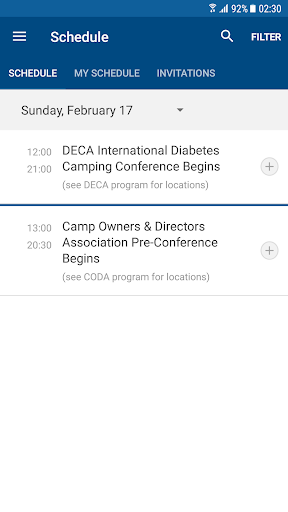 Screenshot for ACA's National Conference in United States Play Store