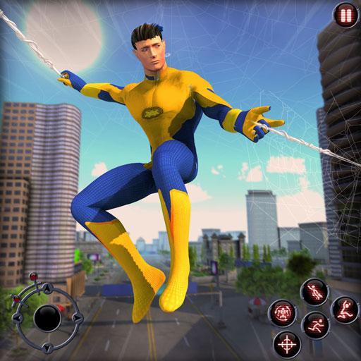 Rope Amazing Hero Crime City Simulator