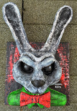 Photo: Demens Lepus.  20 x 12 x 6 inches.  Mixed medium sculpture.  Signed and sealed.  ©Marisol McKee