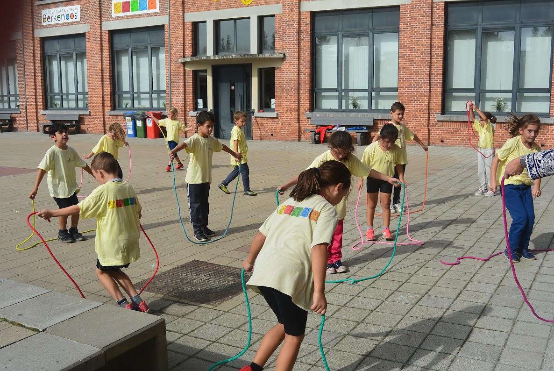 Sportieve leerlingen in 1 en 2