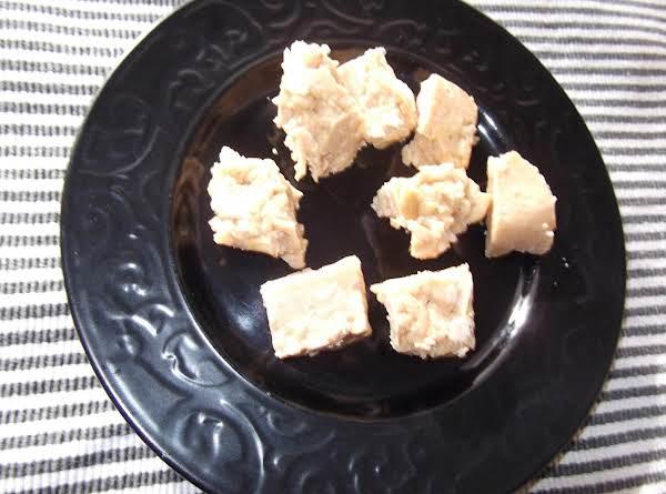 Brown Sugar Cashew Fudge