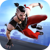 Parkour Simulator 3D - Sportler Spiele icon