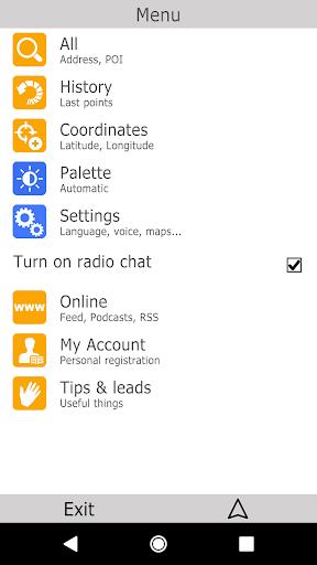 bGEO GPS Navigation 11.1.170 screenshots 6